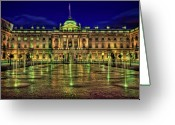 Somerset Greeting Cards - Light Up The Night Greeting Card by Evelina Kremsdorf