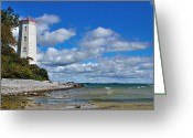 Kingston Greeting Cards - Lighthouse Dream Greeting Card by Joshua McCullough