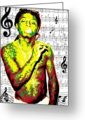 Lil Wayne Greeting Cards - Lil Wayne Greeting Card by Brad Scott