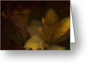 Easter Flowers Greeting Cards - Lilies II Greeting Card by Bonnie Bruno