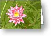 Escobar Greeting Cards - Lilly Bell Greeting Card by Laurette Escobar