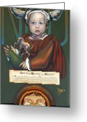 Toy Greeting Cards - Lincolm Willem van Naught Greeting Card by Patrick Anthony Pierson