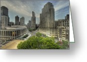 Metropolitan Opera Nyc Greeting Cards - Lincoln Center Greeting Card by William Fields