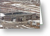 Lincoln Field Greeting Cards - Lincoln Financial Center Philadelphia Greeting Card by Duncan Pearson