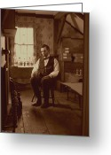 Military Pictures Greeting Cards - Lincoln in the Attic Greeting Card by Ray Downing