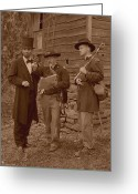 Military Pictures Greeting Cards - Lincoln in the Field Greeting Card by Ray Downing