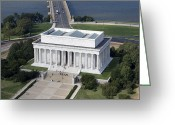 Cities Greeting Cards - Lincoln Memorial, 2006 Greeting Card by Granger