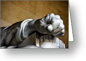 Christopher Holmes Photography Greeting Cards - Lincolns Left Hand Greeting Card by Christopher Holmes
