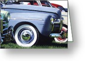 Photo-realism Painting Greeting Cards - Line Up Greeting Card by Denny Bond