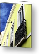 Lime Photo Greeting Cards - Lisboa Colors Greeting Card by John Rizzuto
