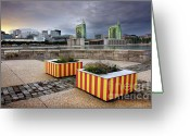 Perfect Greeting Cards - Lisbon Expo Greeting Card by Carlos Caetano