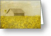 Oregon Greeting Cards - Little House on the Prairie Greeting Card by Rebecca Cozart