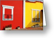 Business Decor Greeting Cards - Little Portugal Greeting Card by Paul Ward
