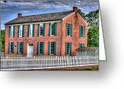Mississippi County Greeting Cards - Little Red Schoolhouse Greeting Card by Barry Jones