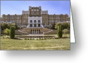 Civil Rights Greeting Cards - Little Rock Central High School Greeting Card by Jason Politte