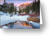 Mountain Range Greeting Cards - Little Stream Greeting Card by Wayne Boland
