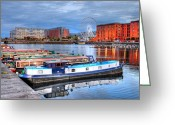 Realize Greeting Cards - Liverpool England Greeting Card by Barry R Jones Jr