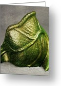 Curvy Sculpture Greeting Cards - Living Structure Greeting Card by Lonnie Tapia