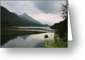 West Coast Photo Greeting Cards - Loch Leven Scotland Greeting Card by Jasna Buncic