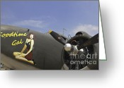 Ww2 Photographs Greeting Cards - Lodestar C-60 Airplane Transport Greeting Card by M K  Miller