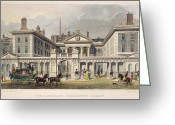 Admiralty Greeting Cards - LONDON: ADMIRALTY, c1840 Greeting Card by Granger
