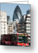 Sir Greeting Cards - London Bridge Greeting Card by Johnnie Pakington
