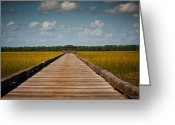Bonnes Eyes Fine Art Photography Greeting Cards - Lonely Dock  Greeting Card by Bonnes Eyes Fine Art Photography