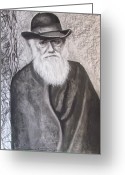 Origin Greeting Cards - Lonely Occupation - C. Darwin Greeting Card by Eric Dee
