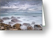France Greeting Cards - Long Exposure To Rockscape Greeting Card by © Yannick Lefevre - Photography