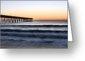 Wrightsville Greeting Cards - Long View Greeting Card by JC Findley