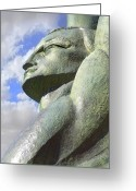 Dam Greeting Cards - Look to the Sky - L Greeting Card by Mike McGlothlen