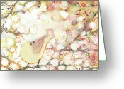 Spring Greeting Cards - Looking for Love Greeting Card by Jennifer Lommers