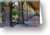 Native Architecture Greeting Cards - Looking into history Greeting Card by Joan Carroll