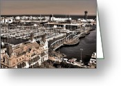 Espana Greeting Cards - Looking South ... Greeting Card by Juergen Weiss
