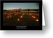 Antietam Greeting Cards - Looking Toward the Mumma Farm 95 Greeting Card by Judi Quelland