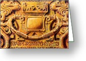Petroglyph Greeting Cards - Lost Ark of the Television Greeting Card by Baron Dixon