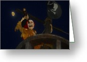 Spooky Moon Greeting Cards - Lost Dutchman Greeting Card by David Lee Thompson