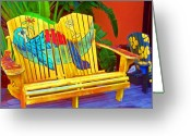 Tropical Photo Greeting Cards - Lost Shaker of Salt 2 Greeting Card by Debbi Granruth