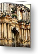 Ancient Ruins Greeting Cards - Lost Treasures Greeting Card by Karen Wiles