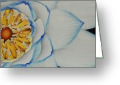 Photo-realism Greeting Cards - Lotus.2 Greeting Card by Michael Flynt
