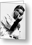Athlete Greeting Cards - Lou Gehrig (1903-1941) Greeting Card by Granger