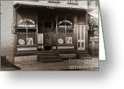 Brewing Greeting Cards - Louis Czarniecki Miners Rest 209 George Ave Parsons Pennsylvania Greeting Card by Arthur Miller