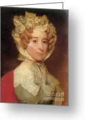 (first Lady) Greeting Cards - Louisa Adams Greeting Card by Photo Researchers