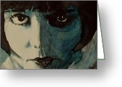 Brooks Greeting Cards - Louise Brooks Greeting Card by Paul Lovering