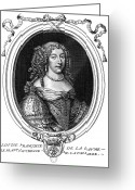 Marquise Greeting Cards - Louise De La Valliere Greeting Card by Granger
