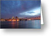2nd Greeting Cards - Louisville Kentucky Greeting Card by Darren Fisher