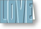 Amor Photo Greeting Cards - Love 10 Greeting Card by Andrew Fare