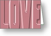 Amor Photo Greeting Cards - Love 7 Greeting Card by Andrew Fare