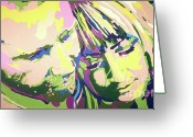 Husband And Wife Greeting Cards - Love In Colour Greeting Card by Jennifer Heath Henry
