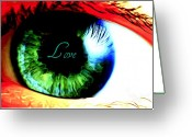 Karen Conine Greeting Cards - Love In Her Eyes Greeting Card by Karen Conine The KajunMarketer